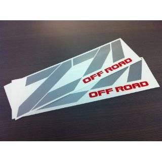 Chevy Z71 Off Road Decal Sticker