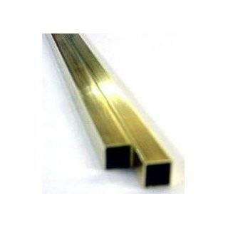 Engineering 153 Brass Square Tubing (Pack of 6)
