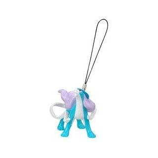 Pokemon Mini Figure Phone Charm & Strap   1 Suicune (Japanese Import