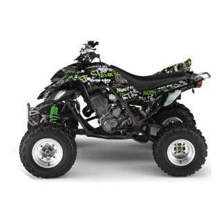 Star AMR Racing Yamaha Raptor 660 ATV Quad Graphic Kit   Silver Haze