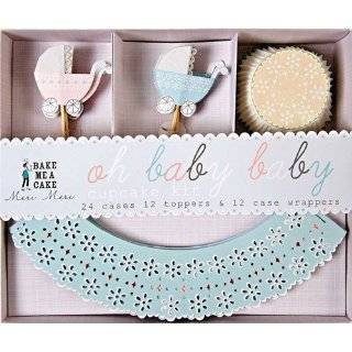 Meri Meri Cupcake Wrapper Kit Lace Wedding