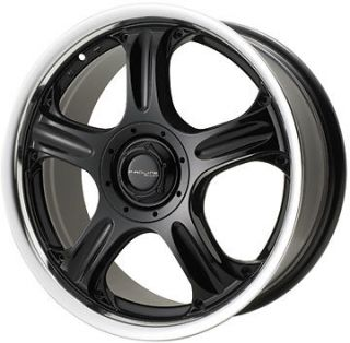 Proline Wheels 950 6x14 Black   Machined Lip Rim