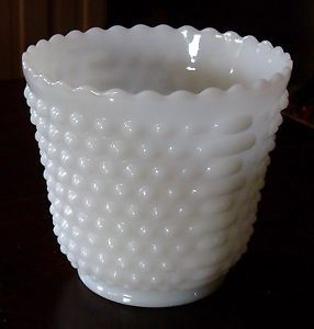 Fire King White Milk Glass