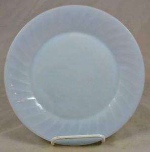 "Anchor Hocking Fire King Glass Azurite Delphite Blue Swirl 9 1 8"" Dinner Plate"