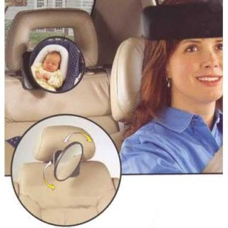 New Easy View Baby Rear Seating Car Seat Swivel Safety Mirror Child Safe Travel