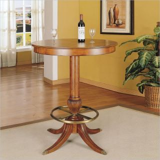 Powell Furniture Jamestown Cherry Landing Pub Table