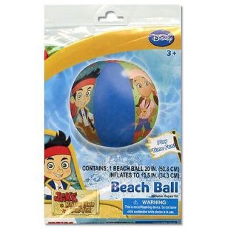"Lot 10 Disney Jake Neverland Pirates Kids Inflatable Pool 20"" Beach Balls Favors"