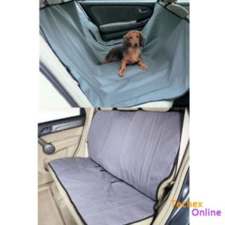 Dog Car Rear Back Seat Cover Pet Mat Blanket Hammock Protector Cradle