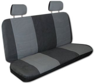 Grey Black Faux Leather Next Generation Car Seat Covers Free Accessories Z