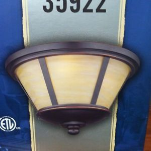 Harbor Breeze Indoor Outdoor Light Kit for Ceiling Fan Item 35922