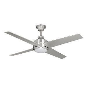 Hampton Bay Mercer 52 in Brushed Nickel Ceiling Fan 296347