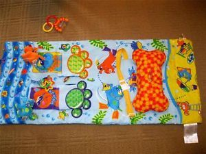 Infantino Shop Play Shopping Cart Cover High Chair Baby Play Mat Dogs Cats