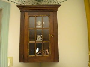Two Hanging Curio Cabinets Lighted Glass Shelves Local Pick Skippack PA