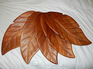 "Hampton Bay Ceiling Fan ""Palm Leaf"" Blades"