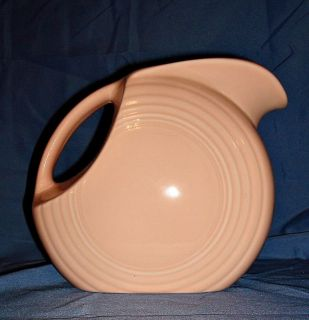 Fiesta Ware Large Disc Pitcher Apricot Retired New