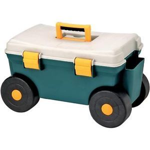 H5668 Garden Tool Box with Wheels Cart Grizzly Industrial New