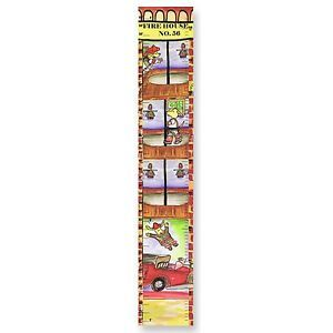 New Boys Girls Baby Toddler Firehouse Growth Chart Wall Hanging Nursery Decor
