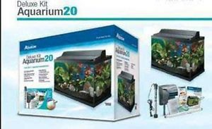 Aqueon 20 High Gallon Deluxe Aquarium Kit
