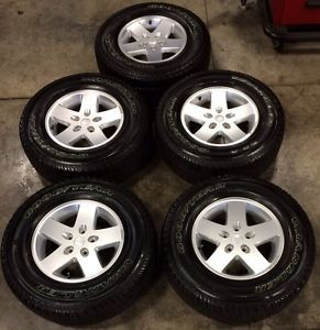 Jeep JK Wrangler Wheels Rims and Tires Package Takeoff Factory