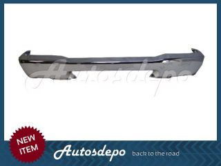 98 00 Mazda Pickup B2500 B3000 B4000 Front Bumper Face Bar Grille Chrome 2pcs