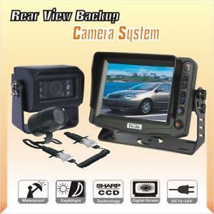 "Horse Trailer Back Up Reverse Camera RV System 5"" LCD"