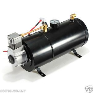 New 12 PSI 12 Volt Air Compressor Tank Pump for Air Horns Vehicle