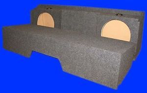 "Chevy Silverado Extended Cab 1999 07 Classic 10"" DF Subwoofer Sub Enclosure Box"