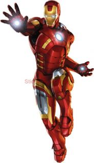Iron Man 3 Avengers Decal Removable Wall Sticker Home Decor Art Movie 2013