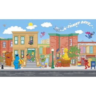 Sesame Street Wall Stickers Look Choose from 9 Styles Room Decor Decals