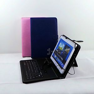"Keyboard Case Stylus OTG for 10 1"" Visual Land Prestige 10 Tablet GB6"