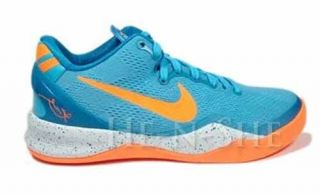 Nike Kobe 8 Girls' Basketball Shoes Blue Orange White for Kids 555586 401