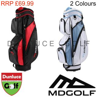 2013 MD Golf Surefire Golf Cart Bag Carry Buggy Unisex Mens Ladies Womens