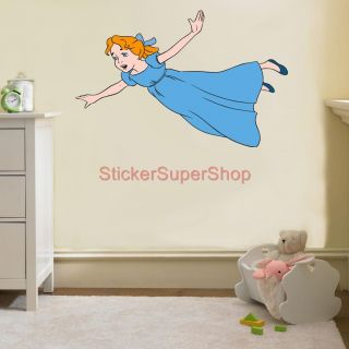 Wendy Peter Pan Neverland Disney Decal Removable Wall Sticker Home Decor Art