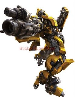 Choose Size Transformers Bumblebee Decal Removable Wall Sticker Art Decor