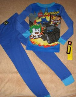 Batman Lego Dark Knight Joker Navy L s Pajamas 10