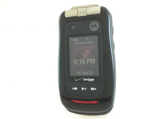 Motorola Barrage V860 Verizon Flip Rugged Work Phone 2 0MP Camera
