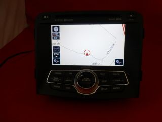 2011 2012 Hyundai Sonata Bluetooth XM  CD Player GPS Navigation Screen Radio
