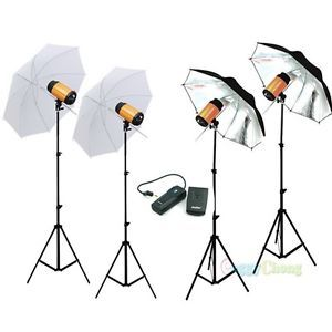 1200WS 1200W Pro Photography Lighting Mini Studio Strobe Photo Flash Light Kit