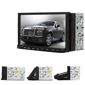 "C2208 7"" Double DIN 2Din Car FM Radio DVD Player Touch Screen USB SD"