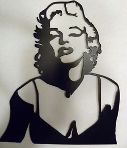 Metal Wall Art Decor Marilyn Monroe Home Theater Decor