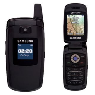 New Unlocked Samsung SGH C417 GSM Bluetooth Black Cellular Flip Phone