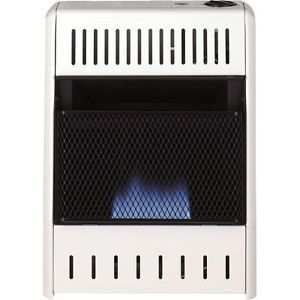 Heater Stove Propane Natural Gas Fired Vent Free incl Thermo 10 000 BTU