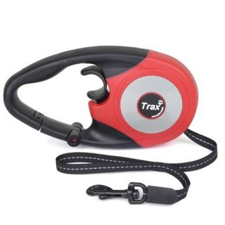 Brand New 16ft Retractable Large Dog Leash Red or Blue