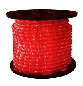 Red LED Rope Light 164 Feet Home Lighting on Sale