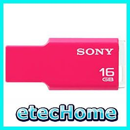 Sony Microvault Tiny 16GB USB Flash Drive USM M Pink