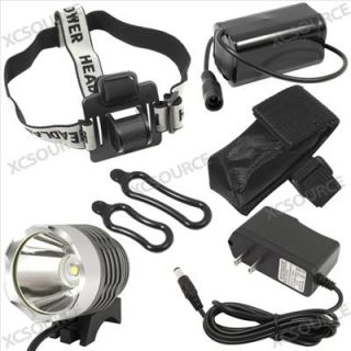 1800LUMENS CREE XM L T6 LED Bicycle Light Headlight Headlamp Charger LD131 Am