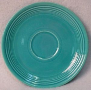 Homer Laughlin China Fiesta Vintage Turquoise Pattern Saucer Only