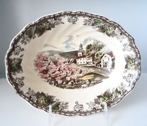 Johnson Brothers Friendly Village The Village Green Vegetable Bowl 9""