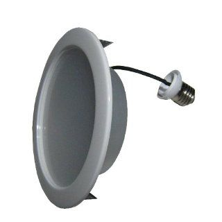 Low Profile 15W LED Recessed Light for 6 inch Can Cool White with Build in Trim
