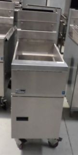 Commercial Deep Fryer Pitco 40lb Nat Gas